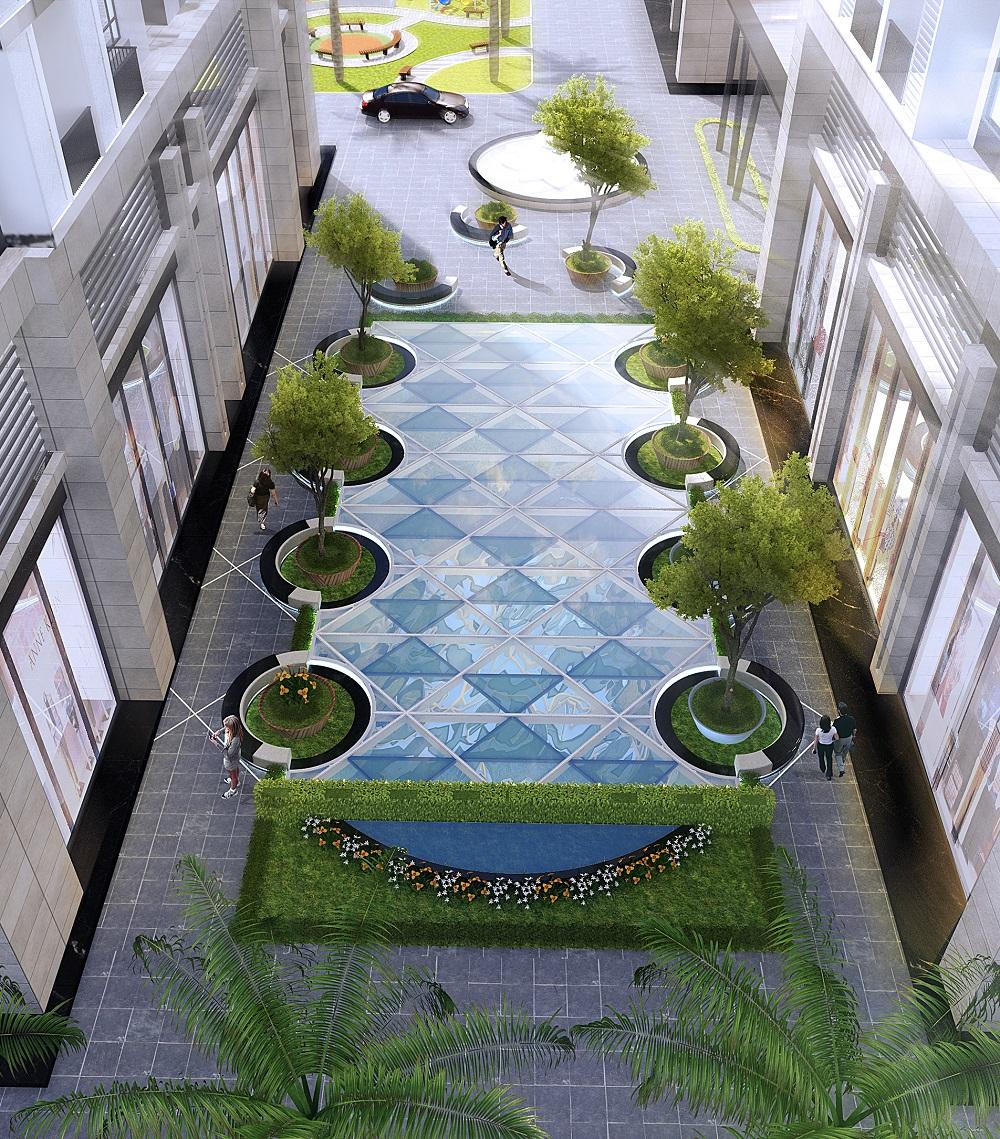 Bể bơi chung cư Sky Central